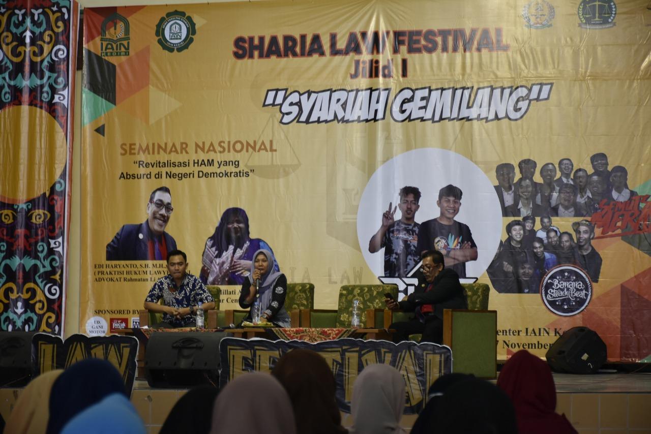 """Syariah Law Festival IAIN Kediri: """"Inti Daripada HAM Itu Adalah Kemanusiaan"""