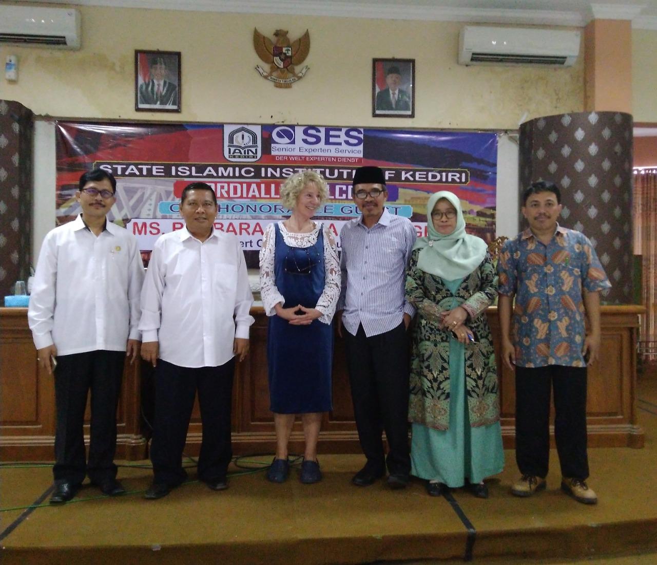 IAIN Kediri Jalin Kerjasama Dengan SES, Tingkatkan Jaminan Mutu Dan E-Education