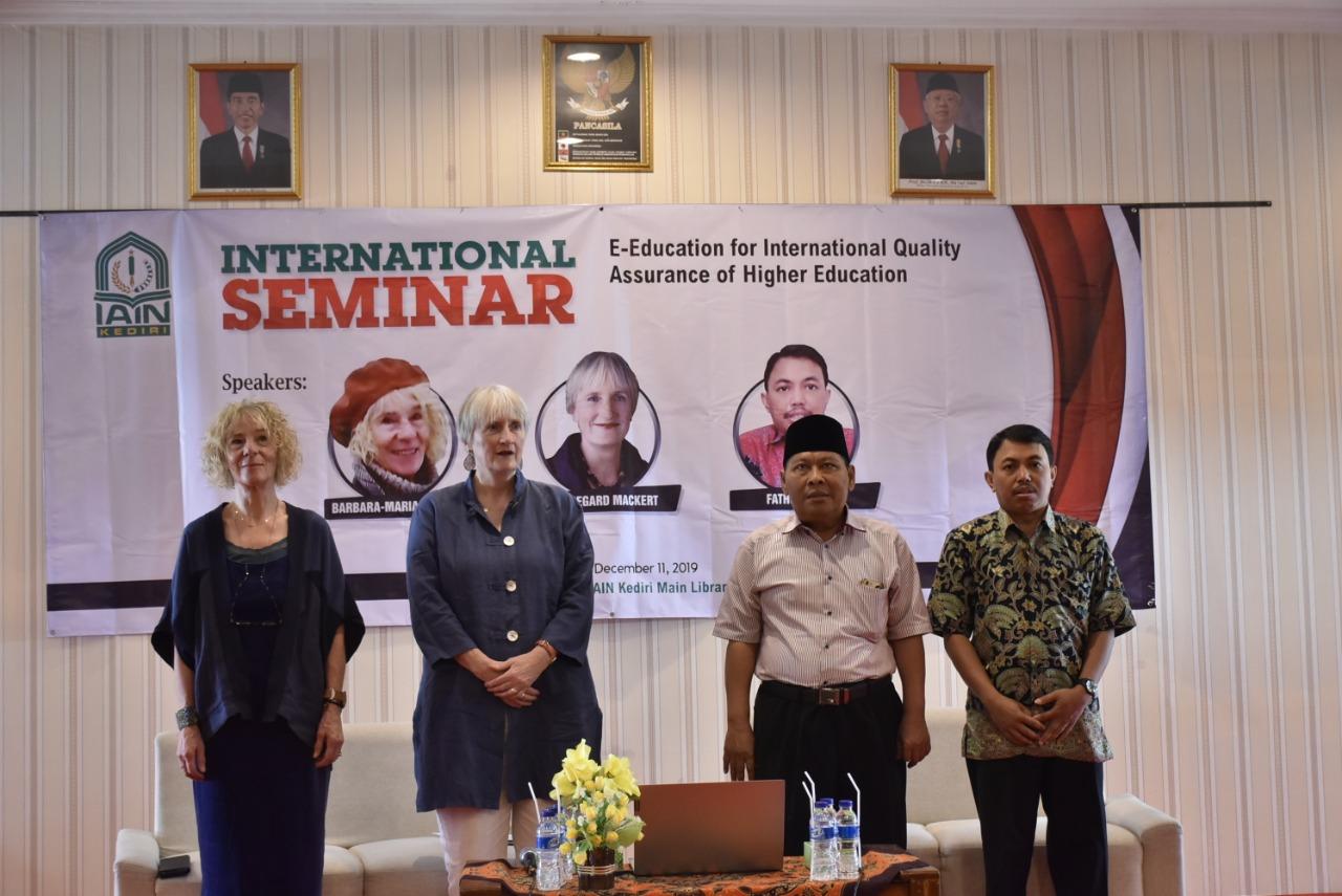 Seminar Internasional: IAIN Kediri Hadirkan Pakar Pendidikan Jerman
