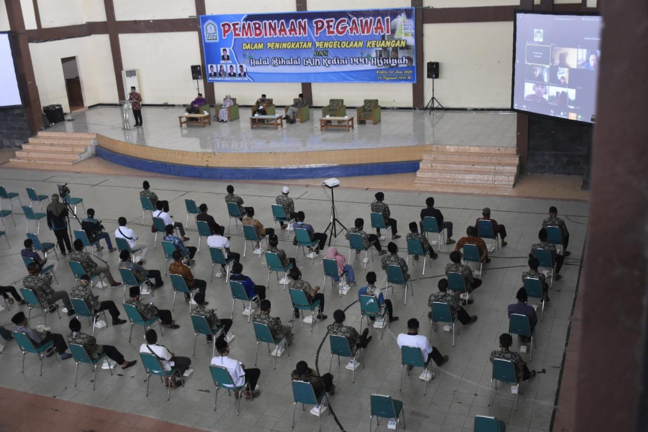 Rektor IAIN Kediri Dorong Inovasi Layanan, Hadapi New Normal
