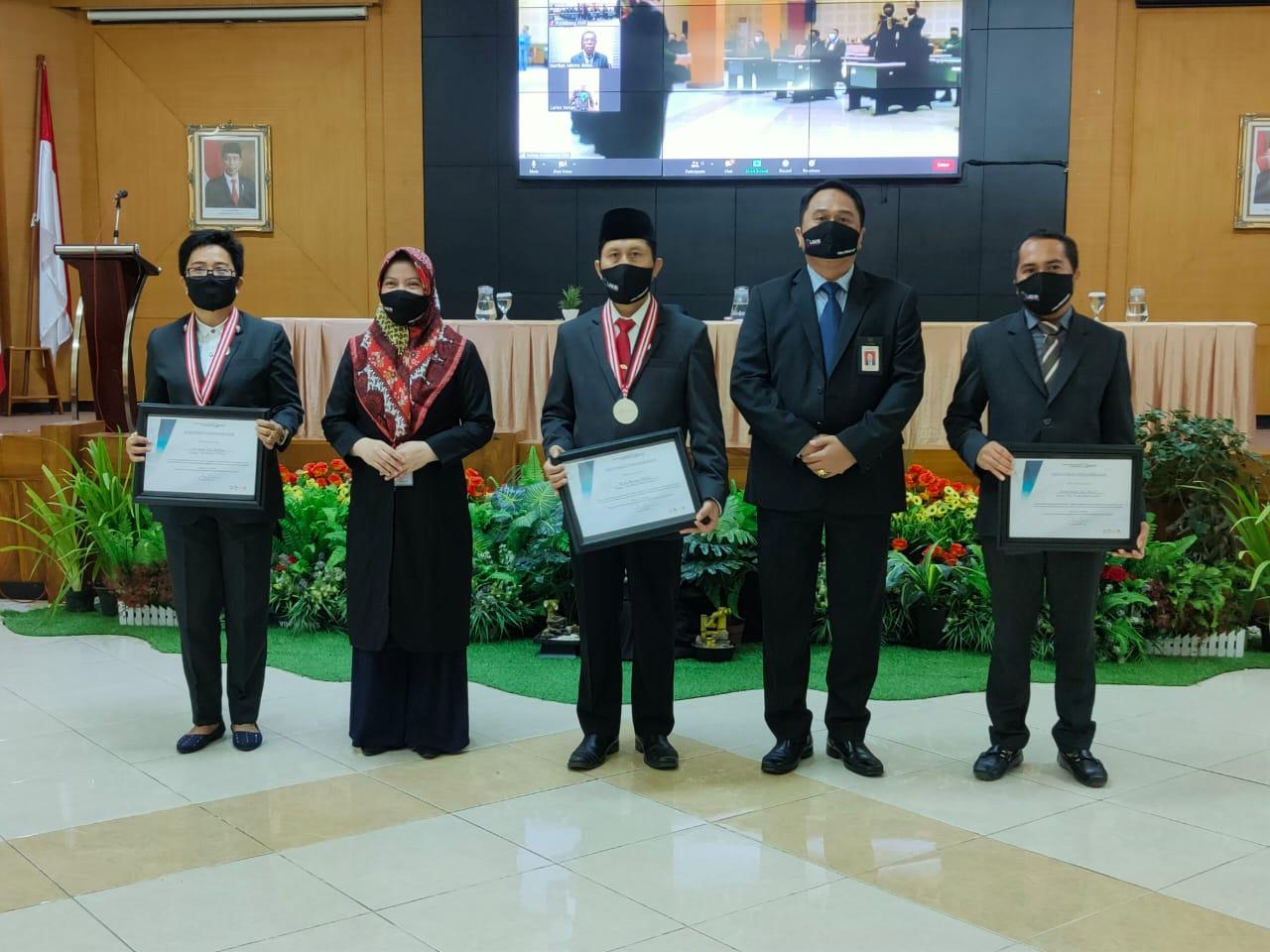 Kabiro IAIN Kediri Raih Dua Penghargaan Dari LAN RI