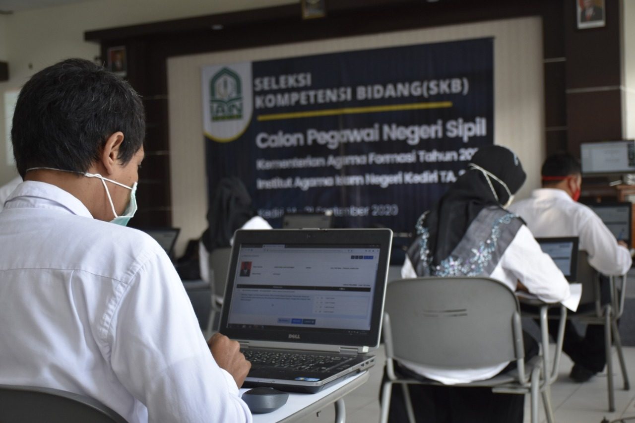 IAIN Kediri Sukses Selenggarakan SKB KEMENAG Formasi 2019