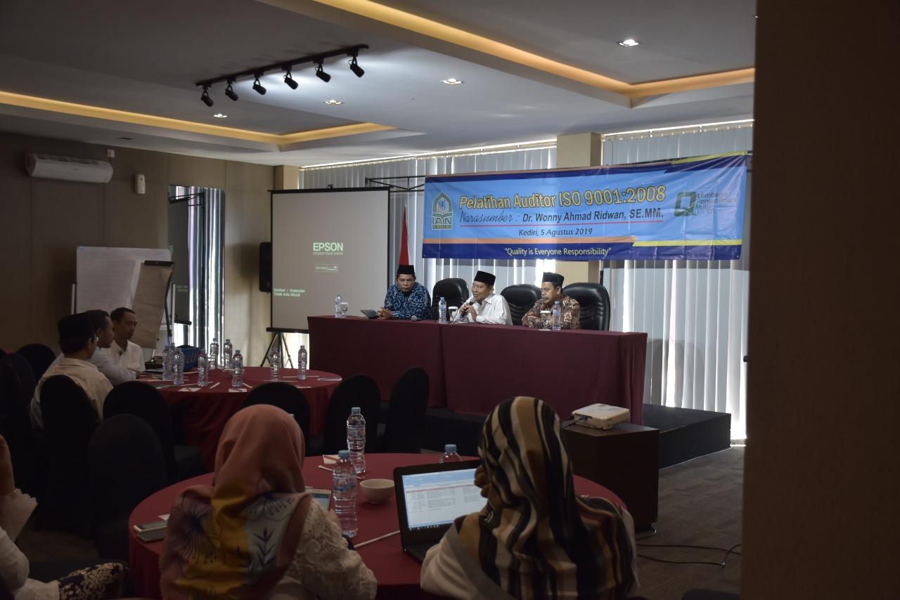 Persiapan Akreditasi, LPM IAIN Kediri Hadirkan Auditor Kemenristek