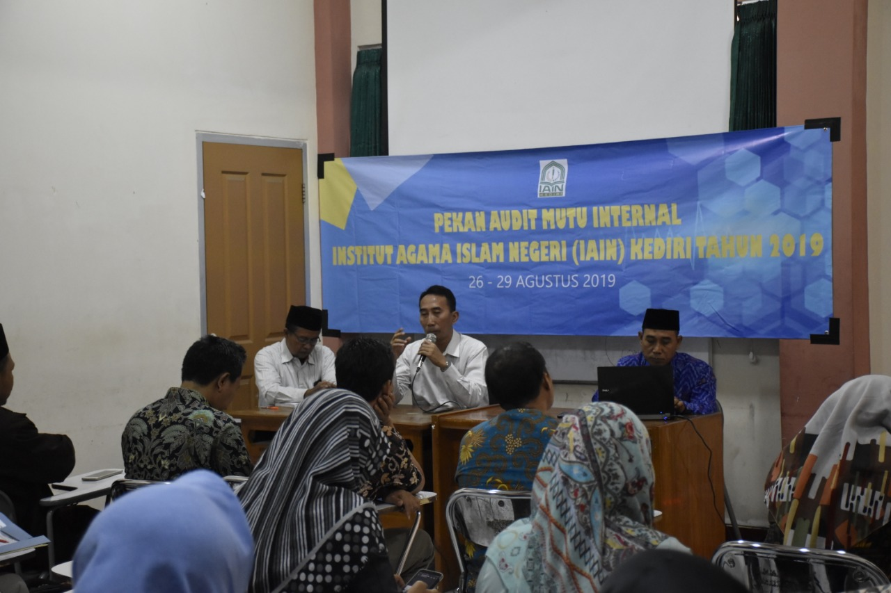 Tingkatkan Mutu Dan Tata Kelola, IAIN Kediri Lakukan Audit Mutu Internal (AMI)