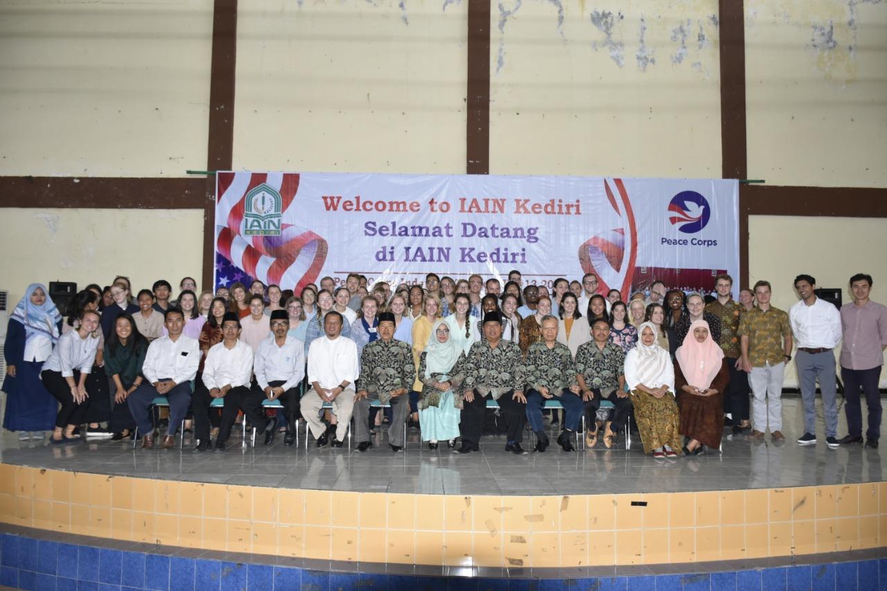 IAIN Kediri Sambut 71 Calon Relawan Peace Corps