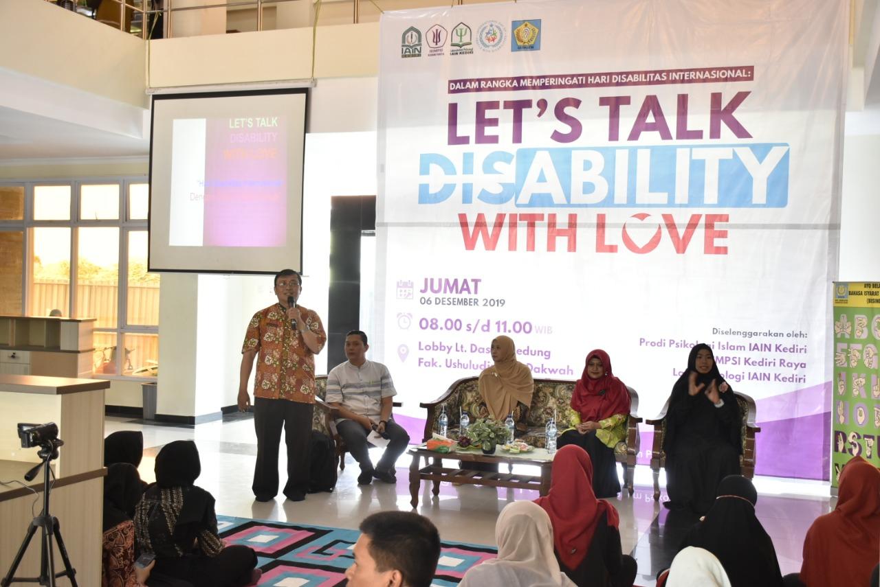 Motivasi Dan Edukasi di Let's Talk Disability With Love
