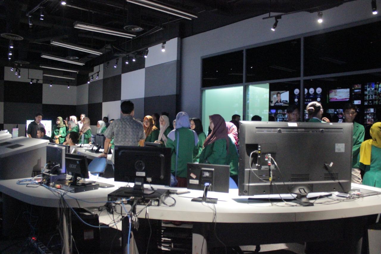 KPI IAIN Kediri Belajar TV Digital di MNC Vision Jakarta