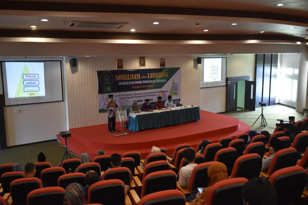 """Penerapan E-Goverment, IAIN Kediri Launching """"Gebyar KPK"""""""