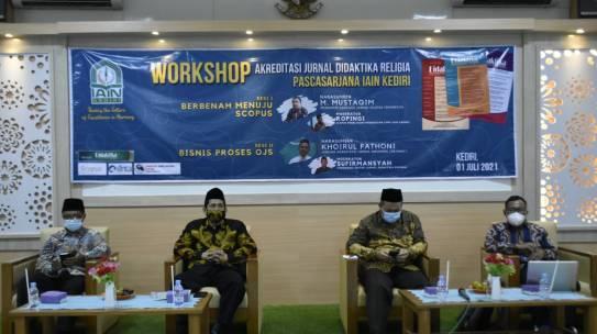 Adakan Workshop, IAIN Kediri Targetkan Miliki Jurnal Terindeks Scopus