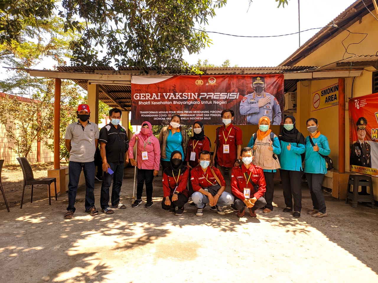 Gerakan Aksi Solidaritas Relawan Vaksinasi Untuk Disabilitas Kabupaten Kediri