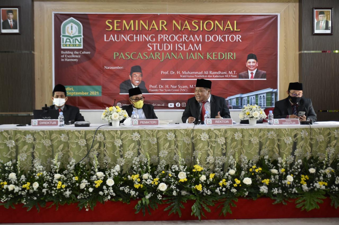 IAIN Kediri Launching Program Doktor Pertama Di Kediri